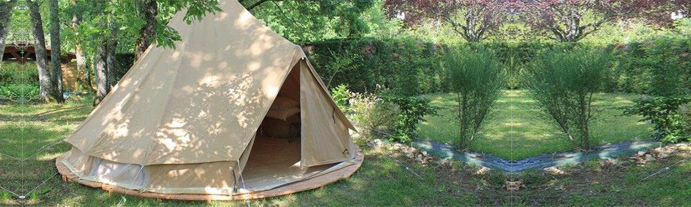 Klaar-om-te-kamperen tent